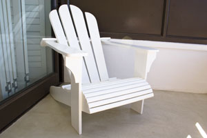 Custom Free Standing Outdoor chair