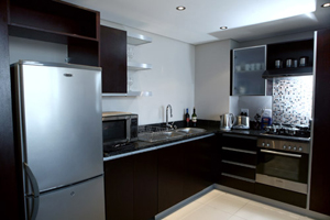 Kitchen - The Rockwell Apartments